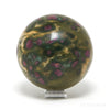 Ruby in Fuchsite Polished Sphere from India | Venusrox
