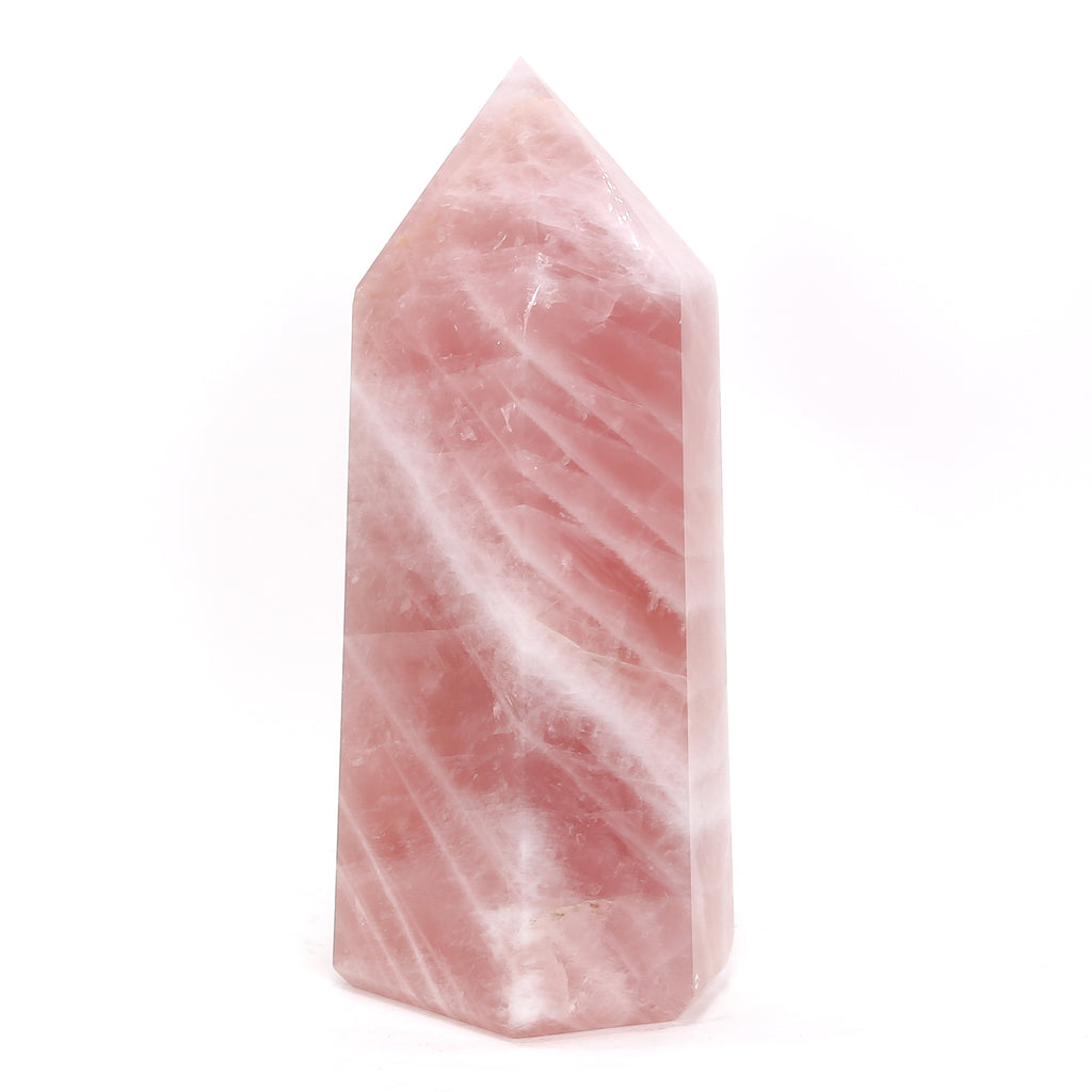 Rose Quartz Polished Point from Brazil | Venusrox