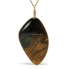 Pietersite Polished Crystal Pendant from Namibia | Venusrox