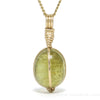 Heliodor Polished Crystal Pendant from Madagascar | Venusrox