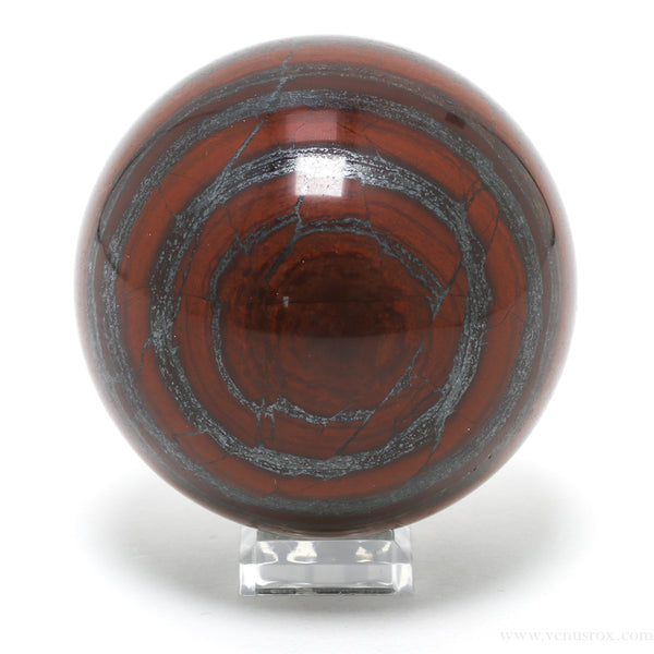 Red Jasper with Hematite Polished Sphere from India | Venusrox
