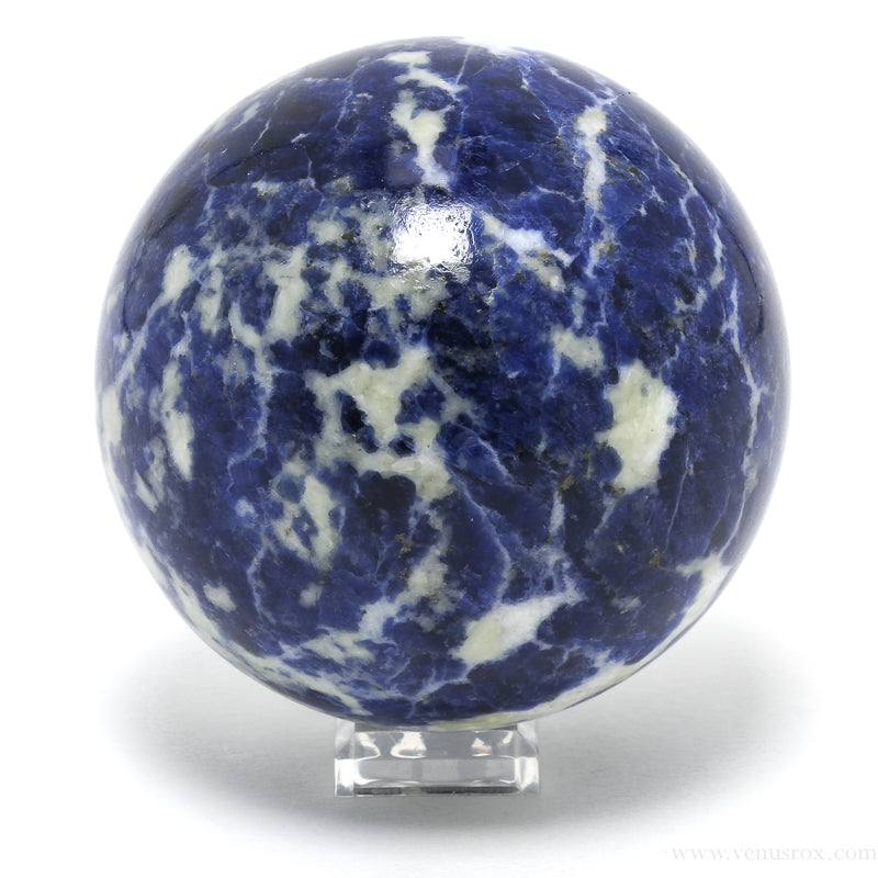 Sodalite Polished Sphere from Brazil | Venusrox