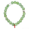 Chrysoprase Faceted Bead Bracelet from Australia | Venusrox