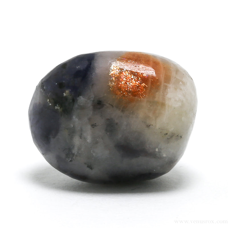 Sunstone with Iolite Polished Crystal from India | Venusrox