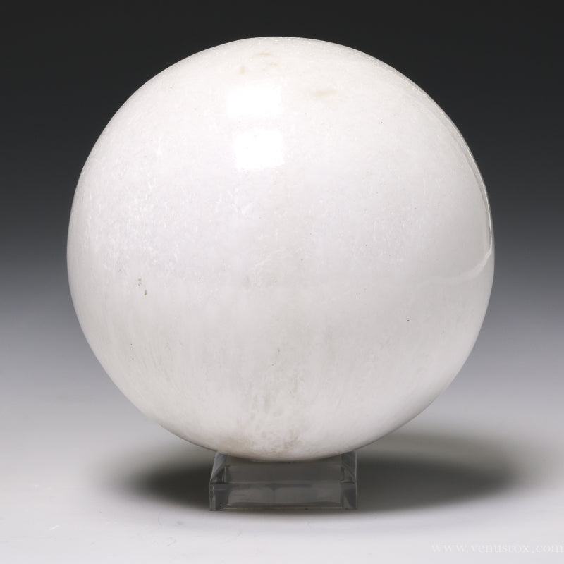 Scolecite Polished Sphere from India | Venusrox
