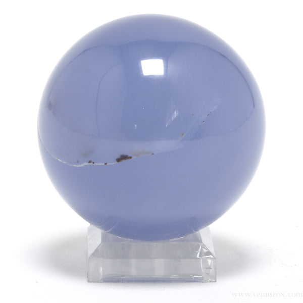 Blue Chalcedony Sphere from Turkey | Venusrox