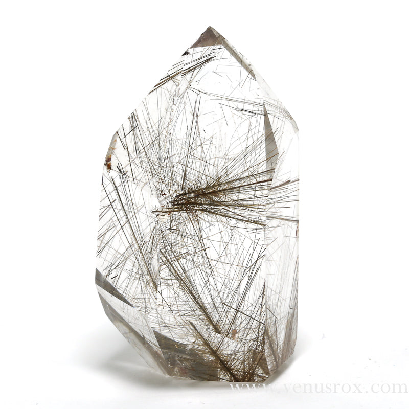 Rutilated Quartz Polished Point from Brazil | Venusrox