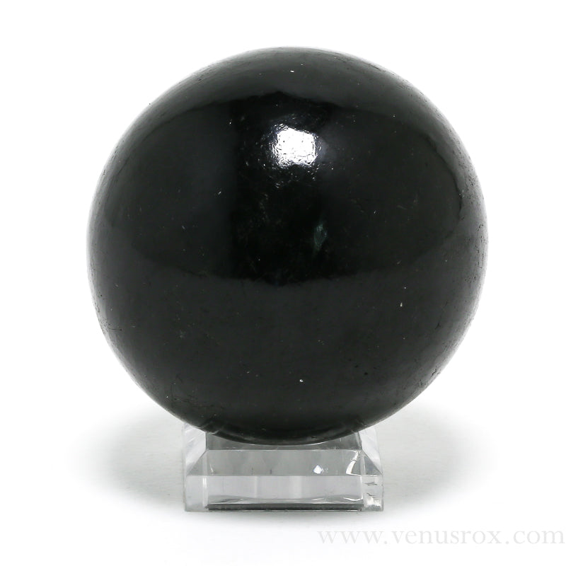 Black Tourmaline Sphere from Madagascar | Venusrox