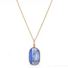 Blue Kyanite Polished Crystal Pendant from Brazil | Venusrox