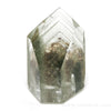 Chlorite Phantom Quartz Polished/Natural Point from Minas Gerais, Brazil | Venusrox