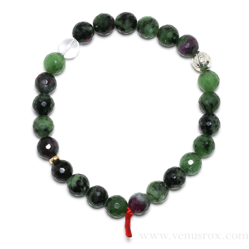 Ruby & Zoisite Bracelet from India | Venusrox