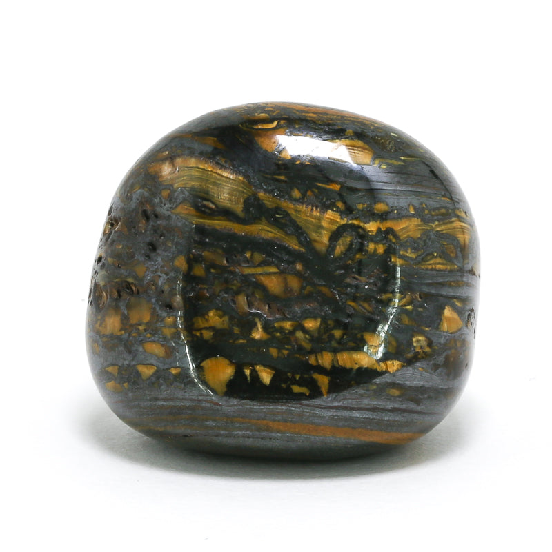 Tiger Iron Polished Crystal from South Africa | Venusrox