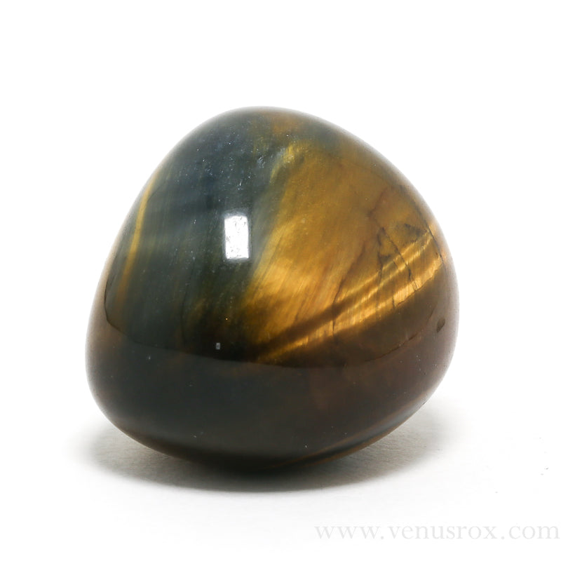 Tigers Eye with Falcons Eye Polished Crystal from South Africa | Venusrox