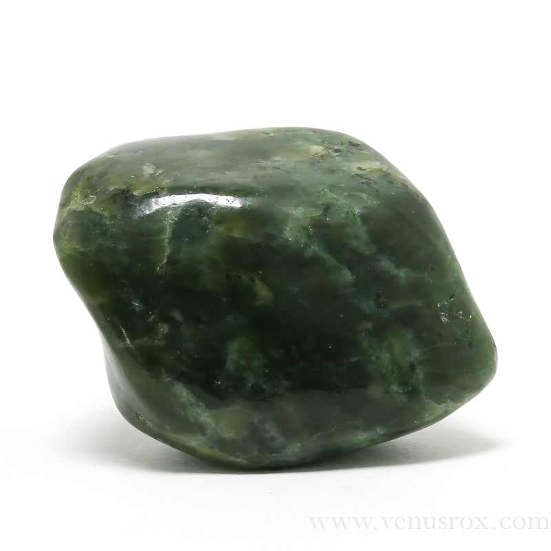 Green Nephrite Jade Polished Crystal from Canada | Venusrox