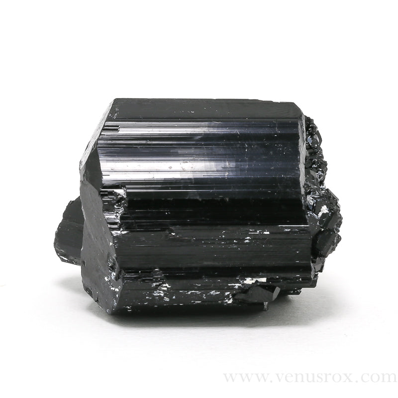 Black Tourmaline Cluster from Madagascar | Venusrox