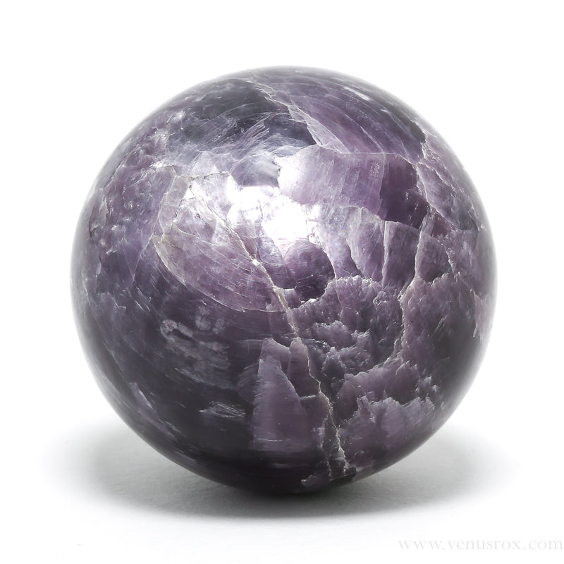 Lepidolite Polished Sphere from India | Venusrox