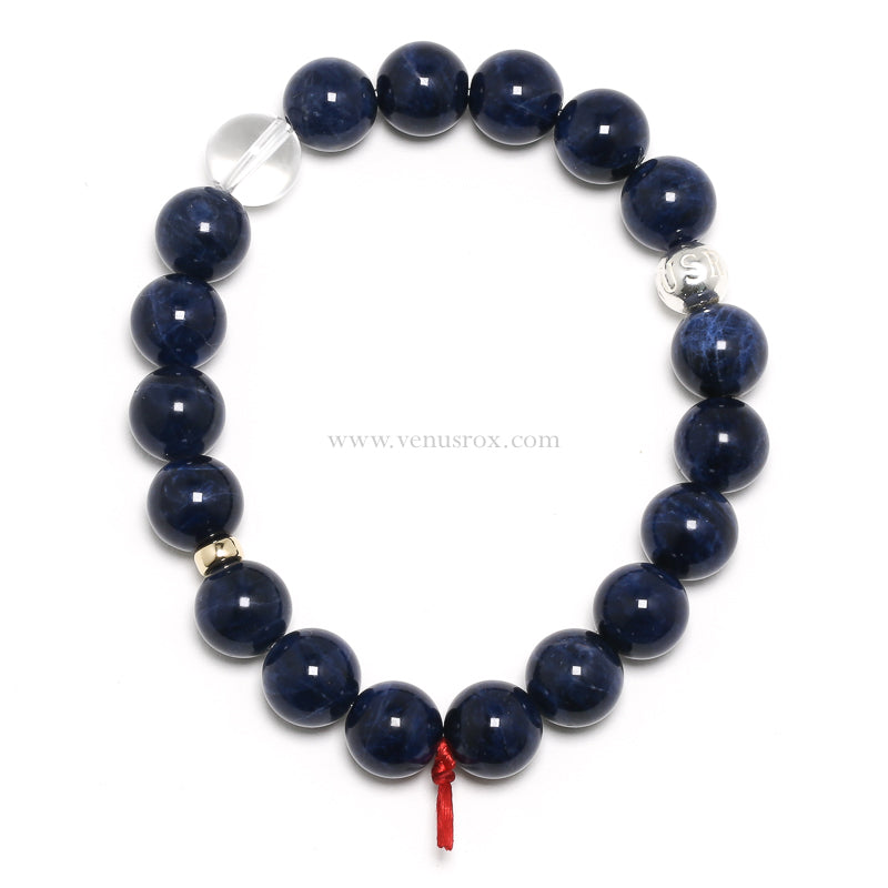 Sodalite Bead Bracelet from Mozambique | Venusrox