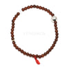 Hessonite Garnet Bead Bracelet from Tanzania | Venusrox