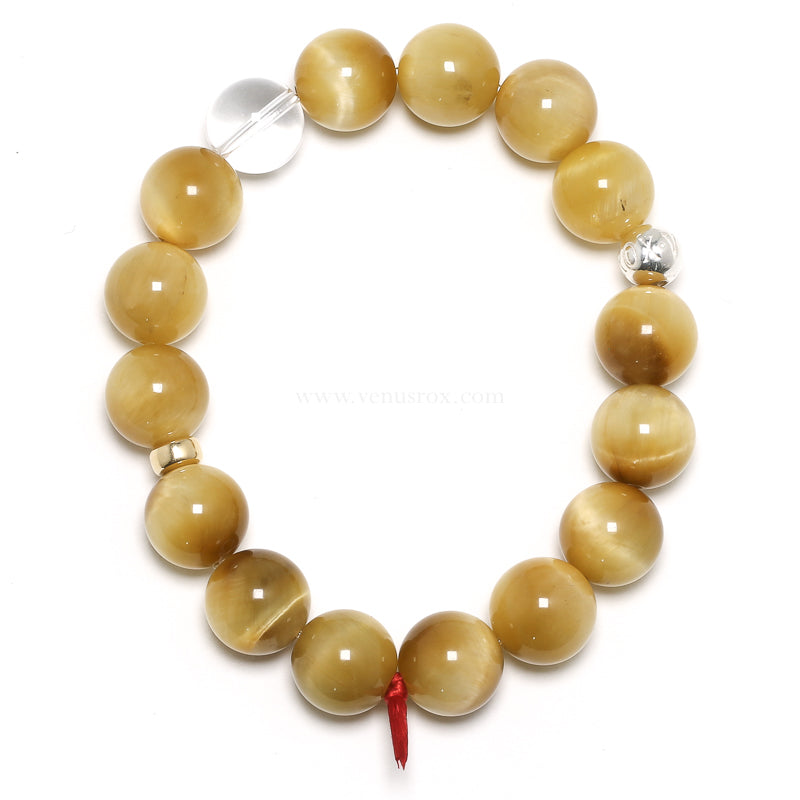 Blonde Tiger Eye Bracelet from South Africa | Venusrox