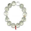 Actinolite in Quartz Bead Bracelet from Brazil | Venusrox