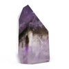 Amethyst with Smoky Quartz Phantom Polished Point from Brazil | Venusrox