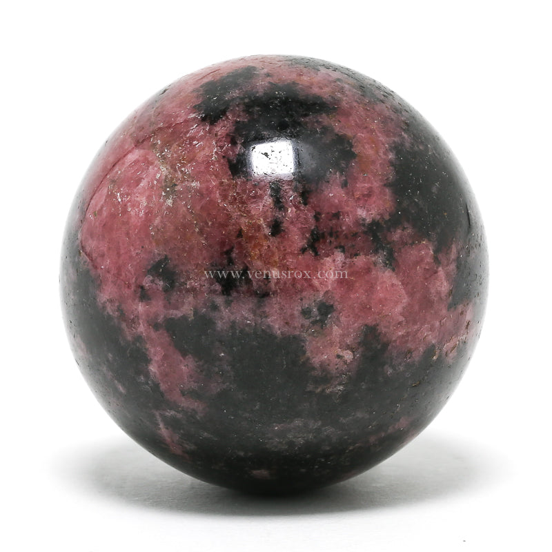 Rhodonite Polished Sphere from Madagascar | Venusrox