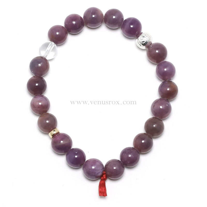 Ruby with Sapphire Bead Bracelet from Mozambique | Venusrox