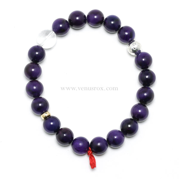 Sugilite Bead Bracelet from South Africa | Venusrox