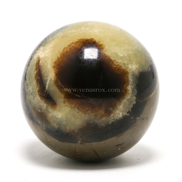 Septarian Polished Sphere from Madagascar | Venusrox