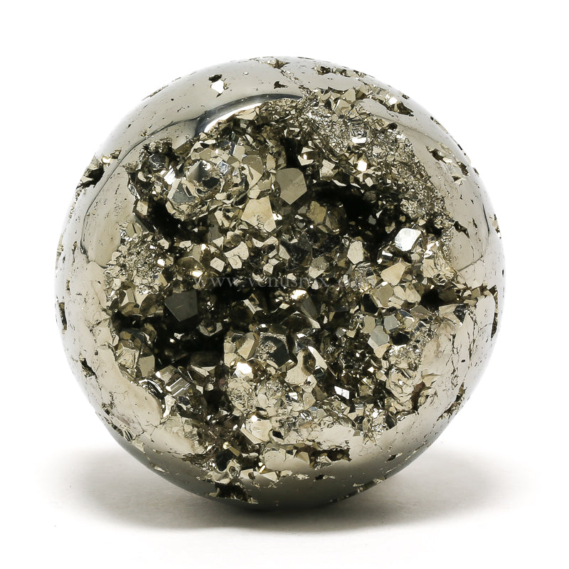 Pyrite Geode Sphere from Peru | Venusrox