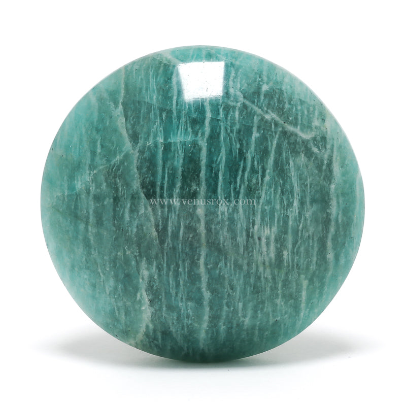 Amazonite Polished Crystal from Madagascar | Venusrox