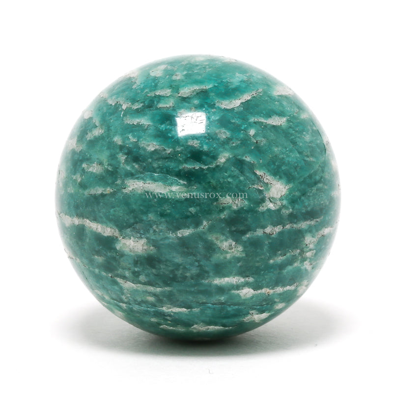 Amazonite Polished Sphere from Russia | Venusrox