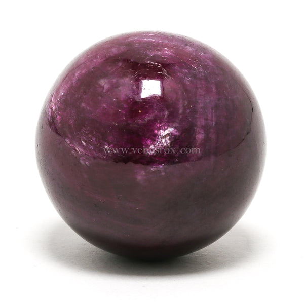 Ruby Polished Sphere from India | Venusrox