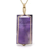 Amethyst Polished Crystal Pendant from Madagascar | Venusrox