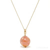 Star Rose Quartz Polished Sphere Pendant from Madagascar | Venusrox
