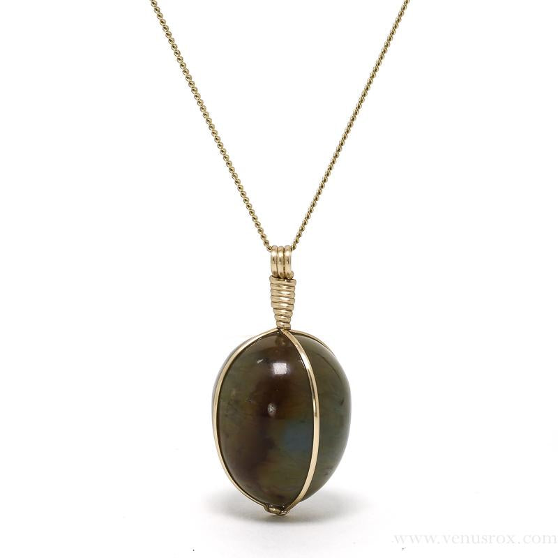 Agate Polished Crystal Pendant from Madagascar | Venusrox