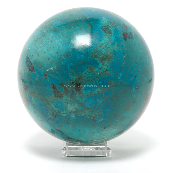 Chrysocolla Polished Sphere from Peru | Venusrox