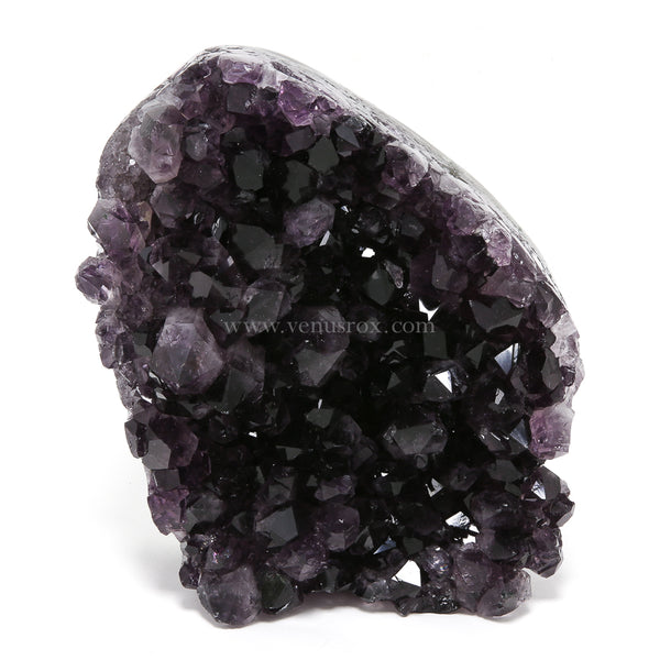 Amethyst Part Polished/Part Natural Cluster from Uruguay | Venusrox