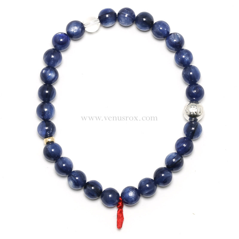 Blue Kyanite Bracelet from Brazil | Venusrox