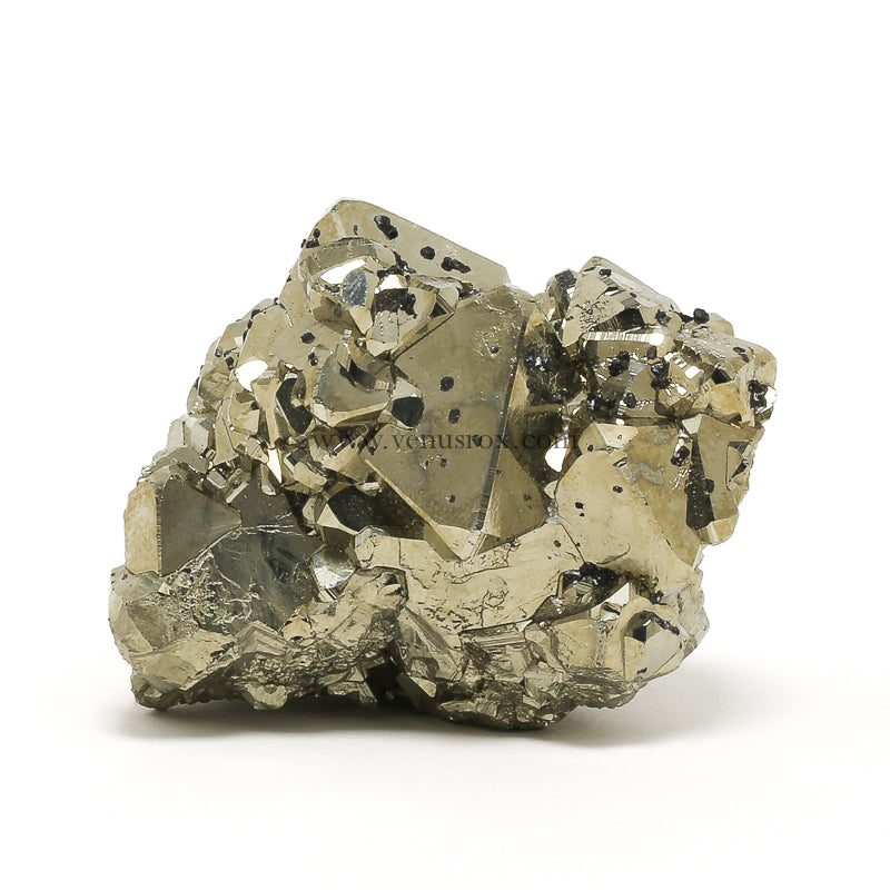 Pyrite with Sphalerite Natural Cluster from the Huanzala Mine, Huallanca District, Huanuco Department, Peru | Venusrox