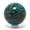 Chrysocolla with Malachite Polished Sphere from Peru | Venusrox