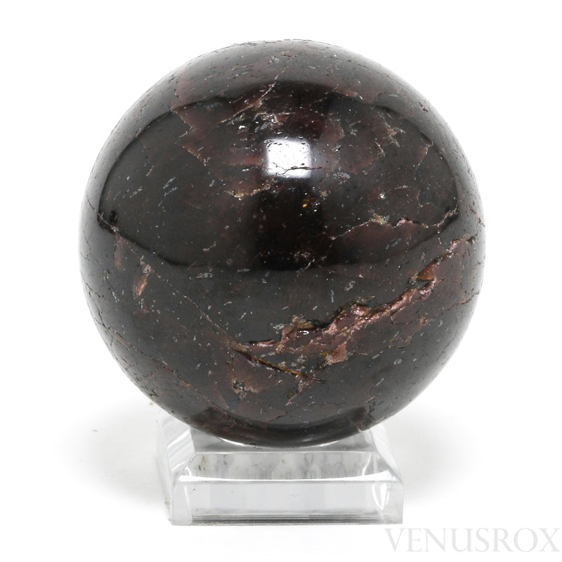 Star Almandine Garnet Polished Sphere from Brazil | Venusrox