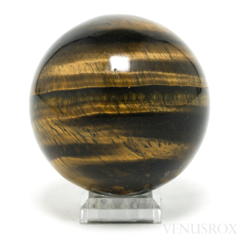 Tigers Eye Polished Sphere from South Africa | Venusrox