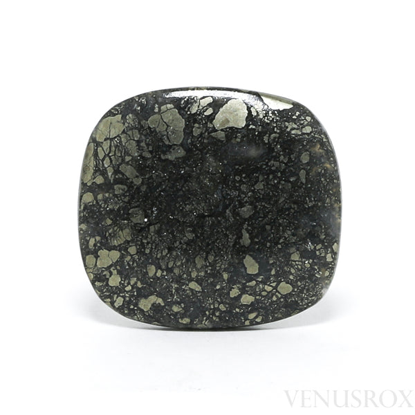 Marcasite in Quartz Polished Crystal from the USA | Venusrox