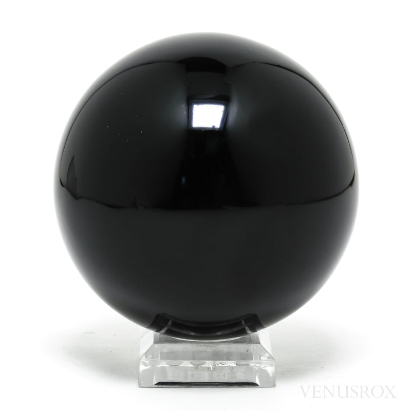 Black Obsidian Polished Sphere from Mexico | Venusrox