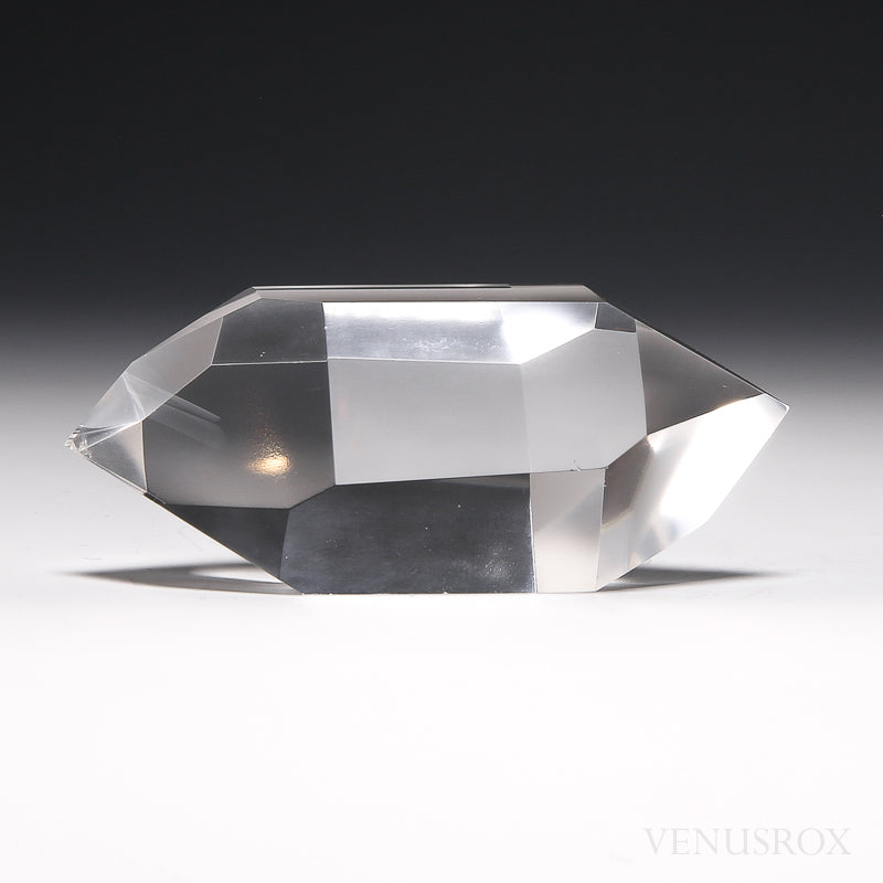 Clear Quartz Polished Double Terminated Point from Brazil | Venusrox