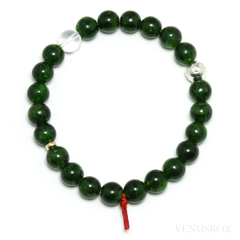 Chrome Diopside Bracelet from Russia | Venusrox