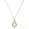 Prehnite Polished Crystal Pendant from Mali | Venusrox