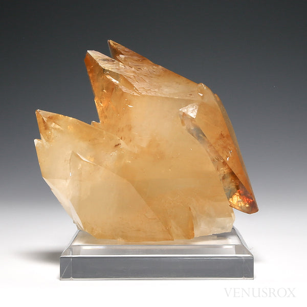 Stellar Beam Calcite Natural Crystal from Elmwood Mine, Tennessee, USA | Venusrox