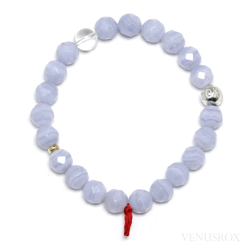 Blue Lace Agate Bracelet from Namibia | Venusrox